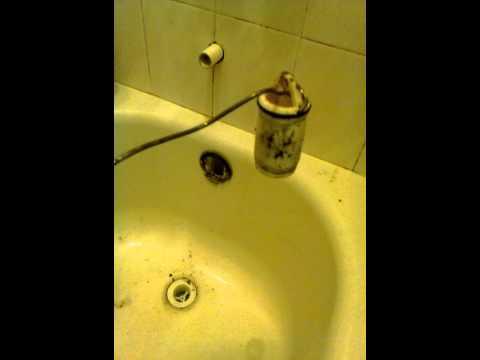 Bathtub trip lever stop linkage broken