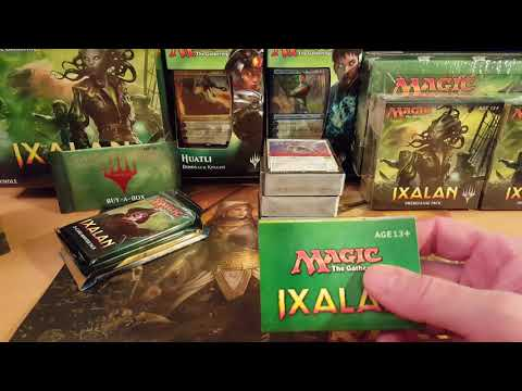 MTG Ixalan Deck Builder's Toolkit Opening!!! $$$ Uncommons!!!