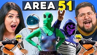 Generations React To Area 51 Raid