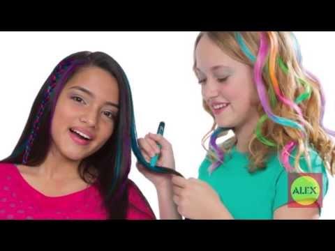 ALEX Toys Hair Chalk Pens 238W