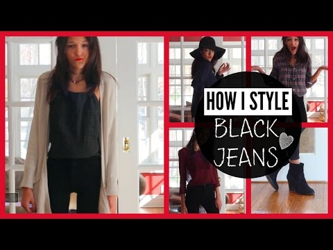 How To Style- 4 Ways to Wear Black Jeans |ft Fitbay|