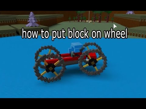 How to make Custom Wheels | ROBLOX Build A Boat For Treasure