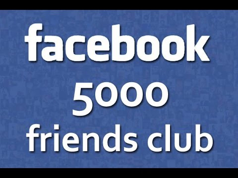 Do you know 5000 friends in facebook account limit