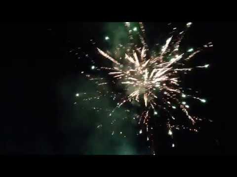 BEST Homemade Firework Show 2014