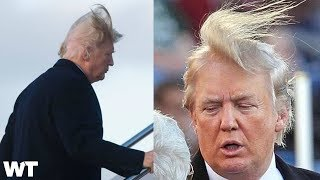 Is President Donald Trump's Hair Real Or Fake?!   What