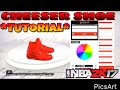 Cheeser Shoe Tutorial In NBA2K17 - 🔥Look Like A GOAT🔥 - Better Then Yeezys