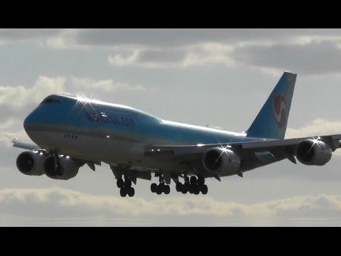 Plane Spotting at London Heathrow Airport, RW09L Arrivals   18-04-17