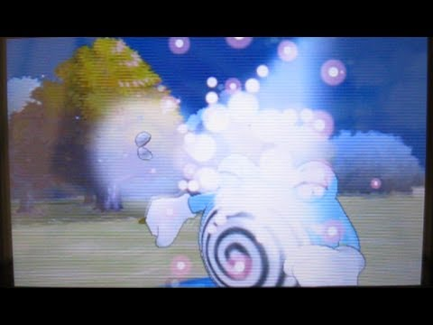 Shiny Poliwhirl in Pokemon Y !