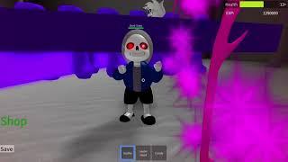 Error Sans Fight Is glitched :T | Undertale 3D Boss Battle (Roblox)