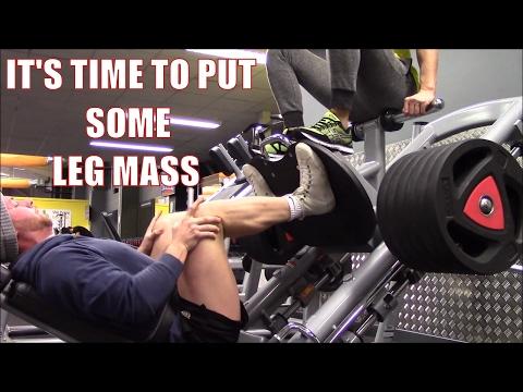 Legs Mass Building Workout: Quads Hamstring & Calves Focused