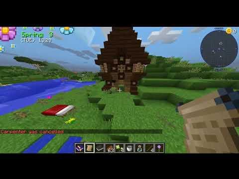 I'M A FARMER!! Minecraft Farming Valley