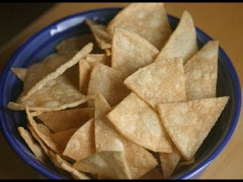 How To Make Corn Tortilla Chips and Cinnamon Sugar Chips | Rockin Robin Cooks