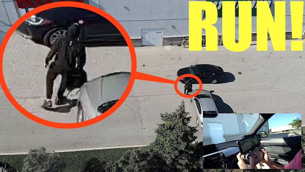 you won't believe what my drone caught on camera! (a video for the police)