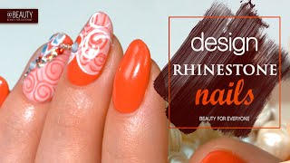 Beautiful Nails With Rhinestones | Go Beauty