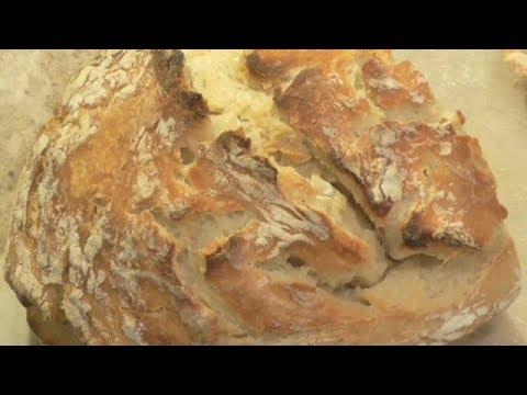 Homemade Peasant Bread