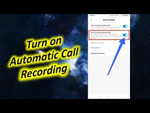 Turn on Automatic Call Recording in Redmi Note 5