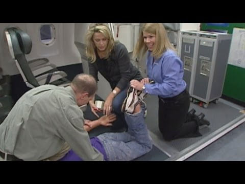 Watch What it Was Like for Deborah Norville to Become a Flight Attendant in 2010
