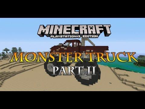 Minecraft PS3 Monster Truck Build part 2