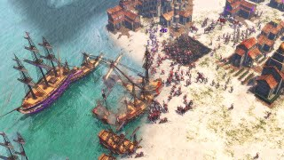 Age of Empires 3 - Gameplay (PC/UHD)