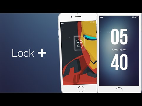Lock + The Best iOS 9 Lockscreen Theme Tweak For iPhone, iPod & iPad