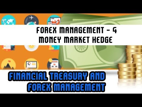 Financial Treasury & Forex Management | Forex Management - 4 | Money Market Hedge | Lecture 34