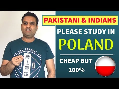 STUDY IN POLAND FOR PAKISTANIS AND INDIANS