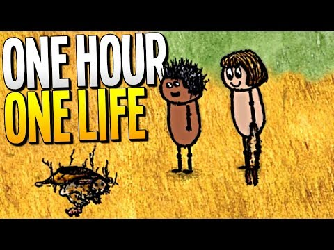WE SAVE THE HUNGRY VILLAGE IN MULTIPLAYER CO-OP - One Hour One Life Gameplay