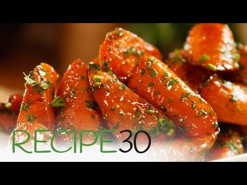 Roasted Glazed Carrots- By RECIPE30.com