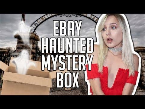 I BOUGHT A HAUNTED MYSTERY BOX FROM EBAY!