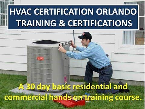 Get an HVAC EPA Certification Universal License Orlando FL 321-216-1442
