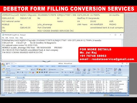 image to excel conversion