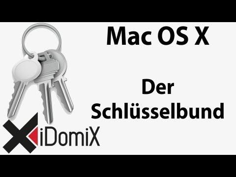 Die Schlüsselbundverwaltung in Mac OS X Schlüsselbund Tutorial Keychain