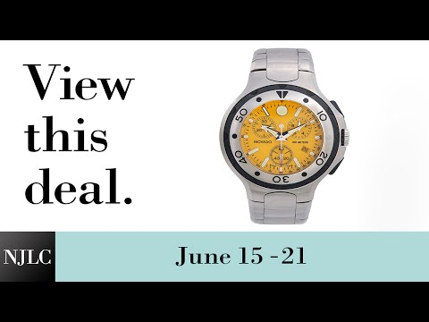 Deal of the Week: Stainless Steel Men's Movado® Watch