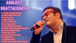 Abhijeet Bhattacharya Romantic Songs ,Kabhi Yaadon Mein Aaun Song, Lamha Lamha Song,Music Fever ,