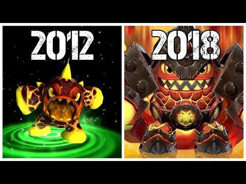 Evolution of Skylanders Mobile Games (2012-2018)