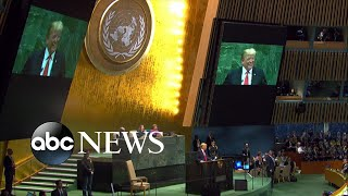 President gets laughed at when delivering speech to UN