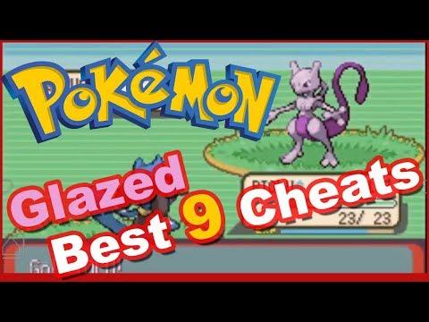 Pokemon Glazed Cheats Legendary & Mythical Pokemon, Rare Candy, Shiny, Master Ball