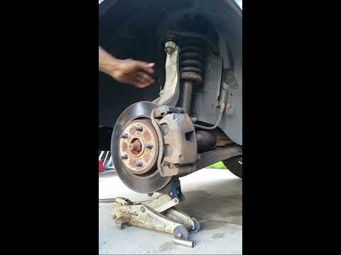 2006 Jeep Grand Cherokee Upper Control Arm Replacement part 1