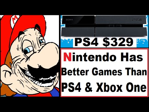 WTF!! PS4 $329. Nintendo Claims Better Games than PS4 and Xbox One Combined. Yakuza Zero
