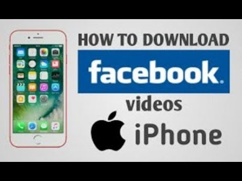 How to download Facebook videos on iPhone | no jailbreak | ios 10, ios 11 to 11.2 | 2018