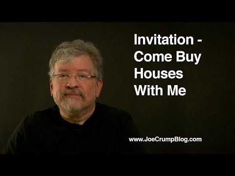 Invitation - Come Buy Houses With Me