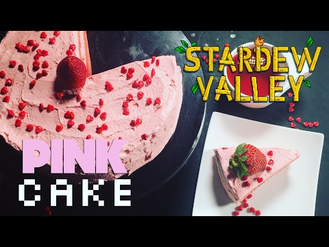 How to Make Stardew Valley Pink Cake