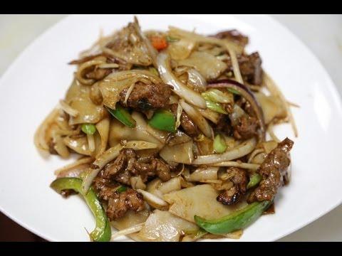 Hong Kong Style Beef Chow Fun 干炒牛河