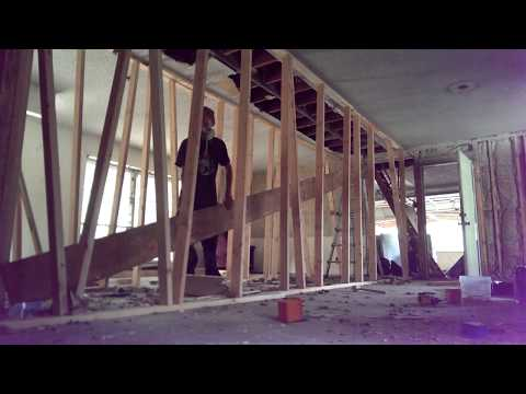 Replacing a load bearing wall with LVL beams (by myself) Part 3