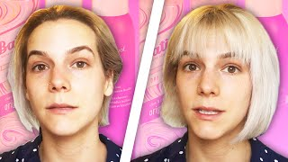 Women Try Dry Shampoos