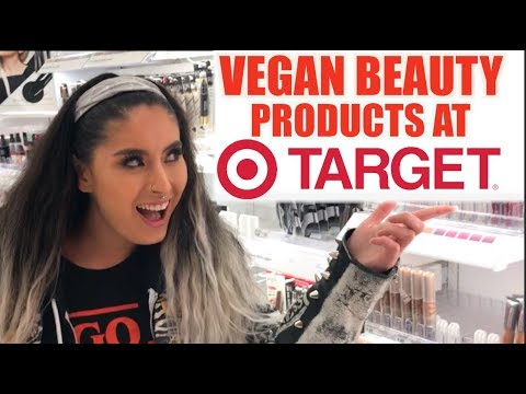 VEGAN Beauty Products at TARGET