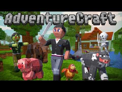 AdventureCraft: 3D Block Building & Survival Craft (Promo Video)
