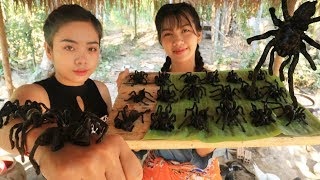 Yummy cooking spider recipe - Cooking skill