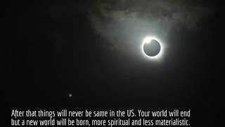 33 Days After Solar Eclipse Above Yellowstone. September 23 2017. You Better Sit Down