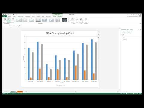 Excel 2016 Clustered Cylinder Chart